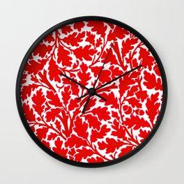 """John Henry Dearle """"Oak Tree"""" 7. Wall Clock"""