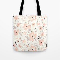Blush Rosé Sparkle Tote Bag
