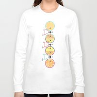 bikes Long Sleeve T-shirts featuring Bikes by KateWadsworth
