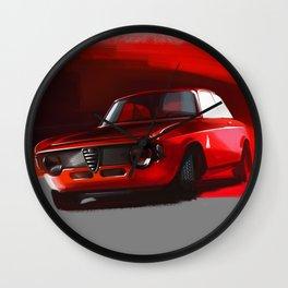 Alfa Romeo Giulia Sprint 1600 GTA Wall Clock