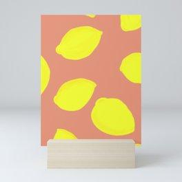 Lemon Print Mini Art Print