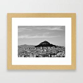 3 days in Athens, 2016 Framed Art Print