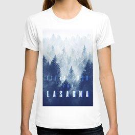 titty f*ck tha lasagna T-shirt