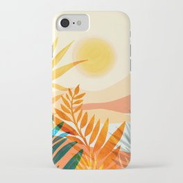 Golden Hour / Abstract Landscape Series iPhone Case