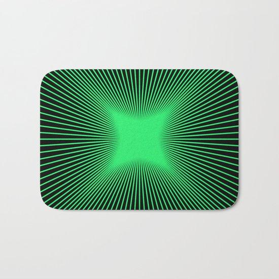 The Emerald Illusion Bath Mat