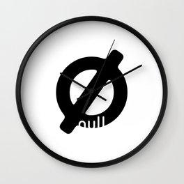 Null Wall Clock