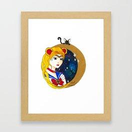 Sailor Babe Framed Art Print