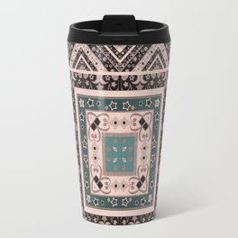 National classic abstract pattern retro print Travel Mug