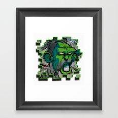 SABADELL Framed Art Print