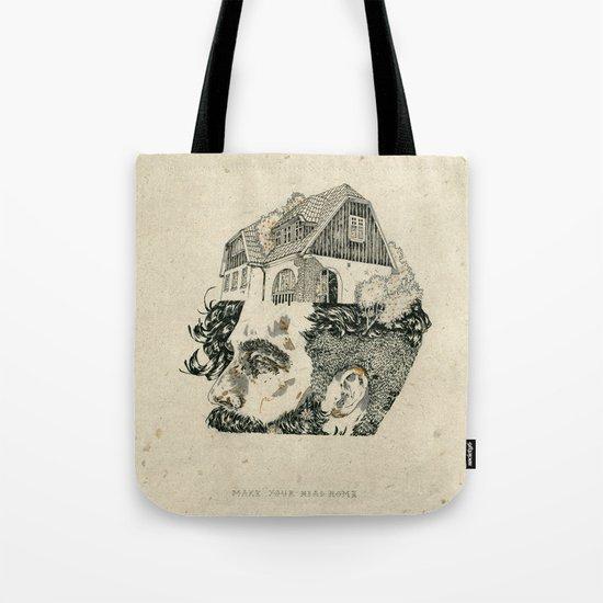 Make your head home. Tote Bag