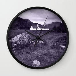 The Cottage in the Glen Wall Clock