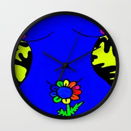 Genie's in the lava lamp! Wall Clock