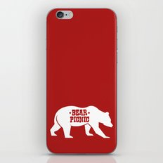 Bear Silhouette  iPhone & iPod Skin