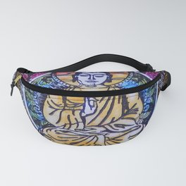 Buddha In The Garden Fanny Pack