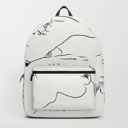 a love that overwhelms Backpack