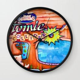Jimmy Neutron's Attomic Collider Wall Clock