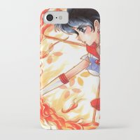 sailormoon iPhone & iPod Cases featuring Sailor Mars by KimiCookie