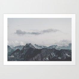 Calm - landscape photography Art Print