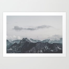 Calm - landscape photography Art Print