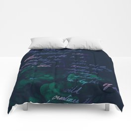 """""""Conquest of the Useless"""" by Werner Herzog Print (v. 10) Comforters"""