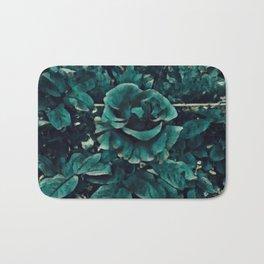 Blue Rose - Painting Style - Art Gift Bath Mat