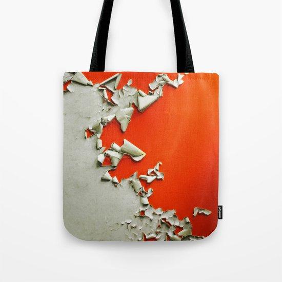 Orange Paper Peel Tote Bag