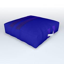 Cobalt blue Outdoor Floor Cushion