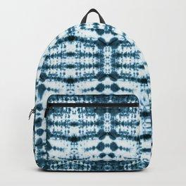Teal Tribe Shibori Backpack
