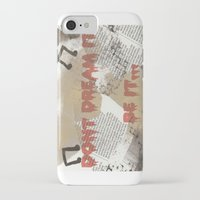 rocky horror iPhone & iPod Cases featuring Rocky Horror - Don't Dream It... by Mel (life_like_disney)
