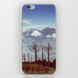 Volcanos Side by Side iPhone Skin