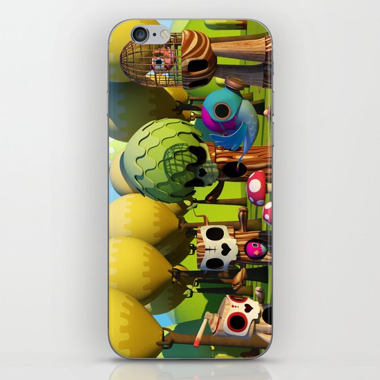 The TreeBorn Gang iPhone & iPod Skin
