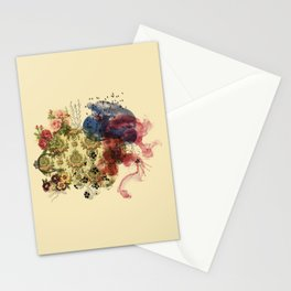 flower power III Stationery Cards