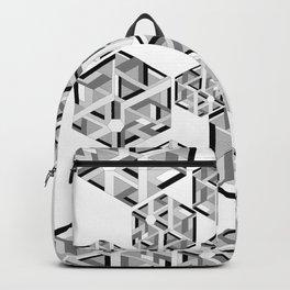 Hexagon monochrome Backpack