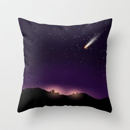 Reentry Throw Pillow