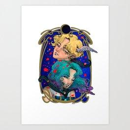 Sailor Moon Acrylic Stand Figure Haruka Michiru Uranus Neptune Christmas Anime