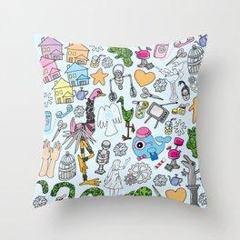 Edward Scissorwings Throw Pillow