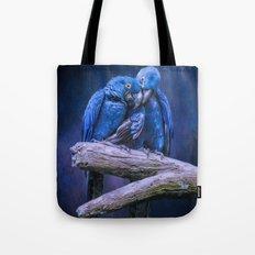 When I'm feeling Blue Tote Bag