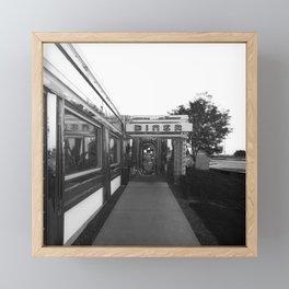 Roadside Diner Framed Mini Art Print