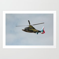 Helicopter Panther - Hyeres411-2010 Art Print