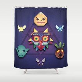 Majora's Mask Shower Curtain