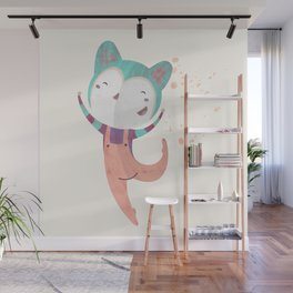 Dance Dreams (Cream) Wall Mural