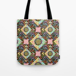 Boho Chic Patchwork Tote Bag
