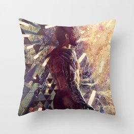 DX: Adam Jensen Throw Pillow