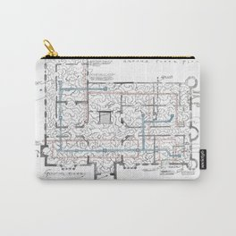 Haunting of Hill House Blueprint Carry-All Pouch