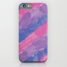Bi Watercolor Pride iPhone Case