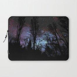 Black Trees Dark Space Laptop Sleeve