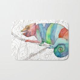Chameleon Fail Bath Mat