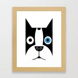 Boogie Face Framed Art Print