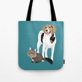 Piper and Jeb Tote Bag