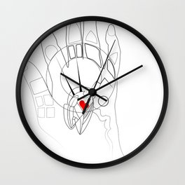 All seeing hand Wall Clock